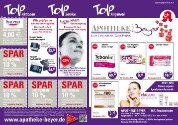 Angebote als PDF-Datei herunterladen - Apotheke Beyer