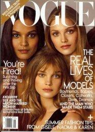 Vogue, May 2009 - DK Bressler