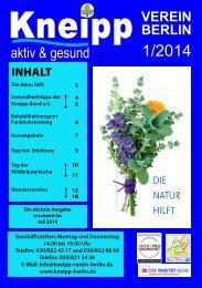 Zum Programmheft - Kneipp-Verein Berlin eV