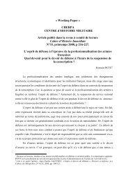 PETIT article art esprit de défense 2008 - Sciences Po Aix