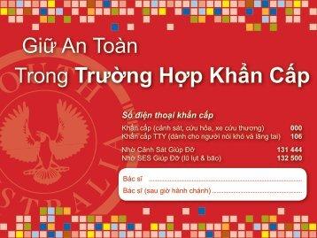 Vietnamese Version of Keeping Safe in ... - DCSI - SA.Gov.au