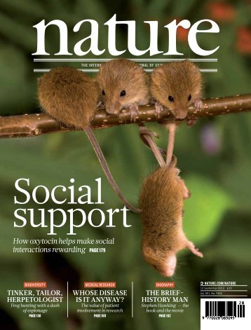 Feature Article - Nature Magazine