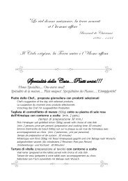 Download menu - Ristorante Alla Speranza