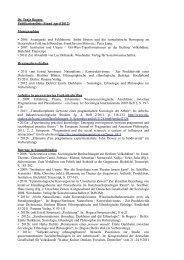 Dr. Tanja Bogusz Publikationsliste (Stand April 2012) Monographien ...