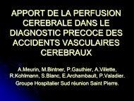 apport de la perfusion cerebrale dans le diagnostic precoce des ...
