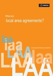 local area agreements? - Arts Council England