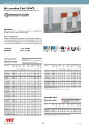 Bolzenanker B A4 / B HCR - MKT Metall-Kunststoff-Technik GmbH ...
