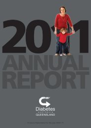 2011 Annual Financial Report - Diabetes Queensland
