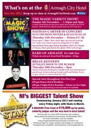 NI's BIGGEST Talent Show - Armagh City Hotel
