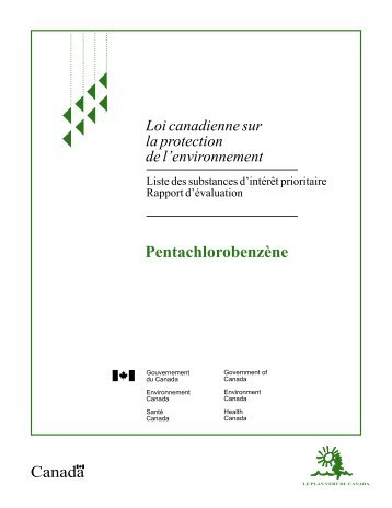 Liste des substances d'intérêt prioritaire - Rapport d'évaluation - UQAC