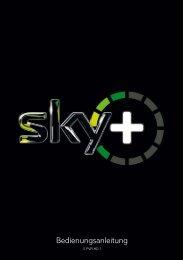 Bedienungsanleitung Pace S PVR HD 1 - Sky