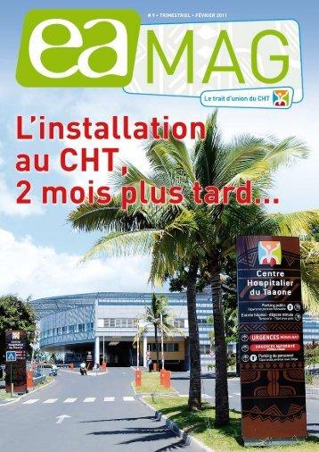 9 • TRIMESTRIEL • févRIER 2011 - Centre Hospitalier de Polynésie ...