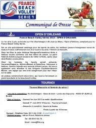 30 mai 2013 - Orléans - Extranet FFVB