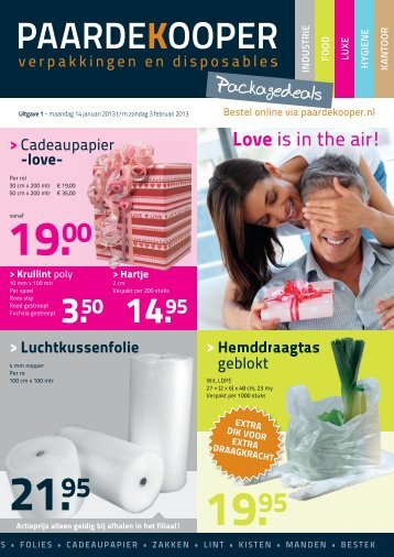 Packagedeals 1 2013 - Paardekooper