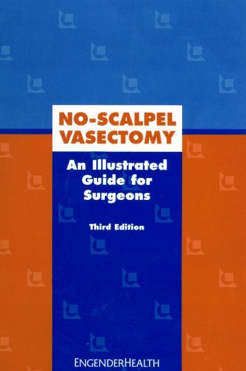 No Scalpel Vasectomy - An illustrated Guide for Surgeons - State ...