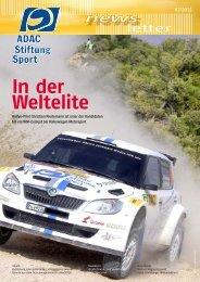 Newsletter 02/2011 - ADAC Stiftung Sport