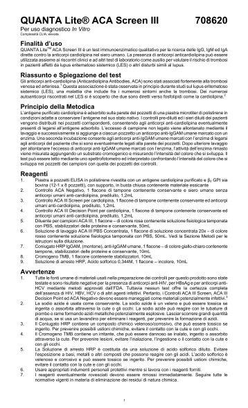 QUANTA Lite® ACA Screen III 708620 - inova