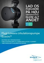 Brochure Dansk - Water Solutions