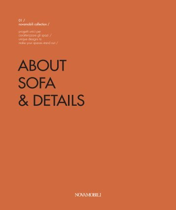 Novamobili About Sofa & Details | Sofas & Chairs