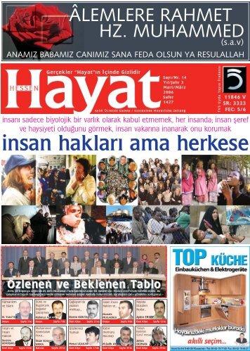 PDF SAYI 14 - Hayat Online