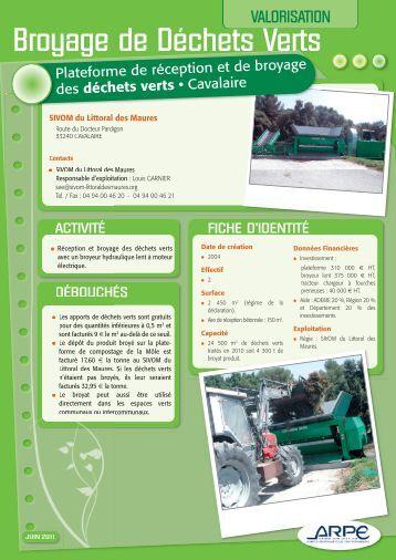 Mise en page 1 - Agence régionale pour l'environnement (ARPE)
