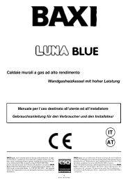 Caldaie murali a gas ad alto rendimento Wandgasheizkessel mit ...
