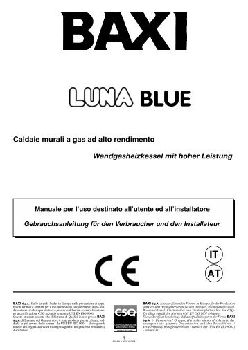 Schema funzionale circuit for Caldaie a gas metano usate