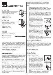 FLC 200 automatische Halogenstrahler - Swisslux AG