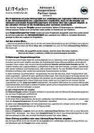 LEIT•faden - Jugendserver Niedersachsen