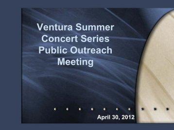 PowerPoint - City Of Ventura