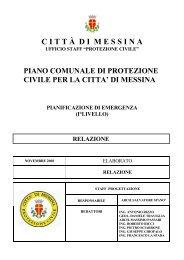 Relazione professionale - Comune di Messina