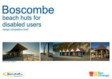 Accessible Beach Hut Design Brief - Public Art Online