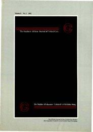 1992 No. 2 Vol 8.pdf - SAJCC Archive Browser - Southern African ...