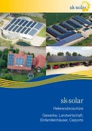 Download Referenzbroschüre - SK Solar