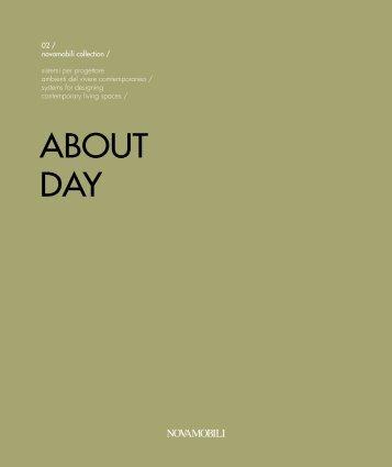 Novamobili ABOUT DAY Catalog   Interior Design from Iialy on livarea.de