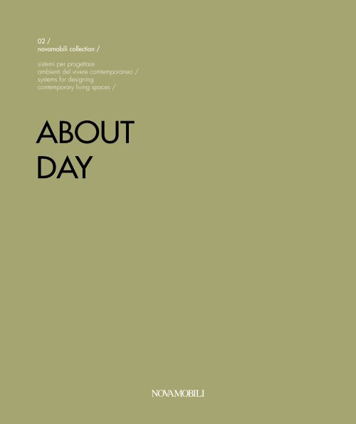 Novamobili About Day Catalog Interior Design From Iialy On Livarea De