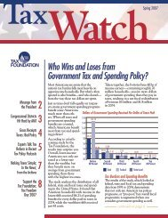 Tax Watch, Spring 2007 - Tax Foundation