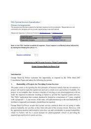 DS3: System Services Consultation – Finance ... - Eirgrid