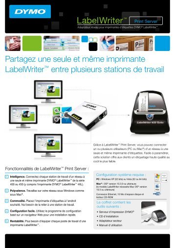 LabelWriter™ Print Server - DYMO