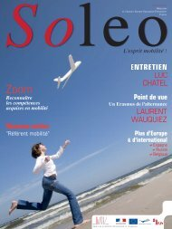 Soleo 23 - Agence Europe-Education-Formation France