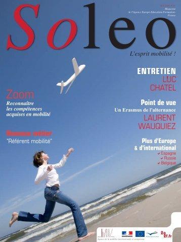 Soleo 23 - Agence Europe-Education-Formation France