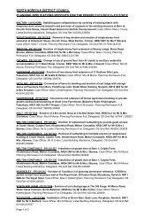 Planning & Treeworks applications 21 November - North Norfolk ...