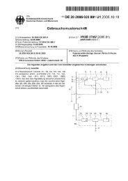 Page 1 Page 2 DE 20 2005 020 801 U1 2006.1019 Beschreibung ...