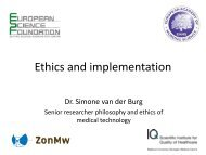 Implementation - The European Academy of Nursing Science