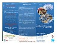 VV ECMO - Hong Kong Society of Critical Care Medicine