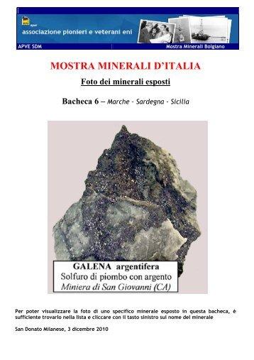 Bacheca 6 - associazione pionieri e veterani eni