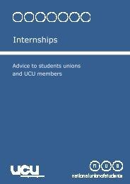 advice on internships - National Union of Students