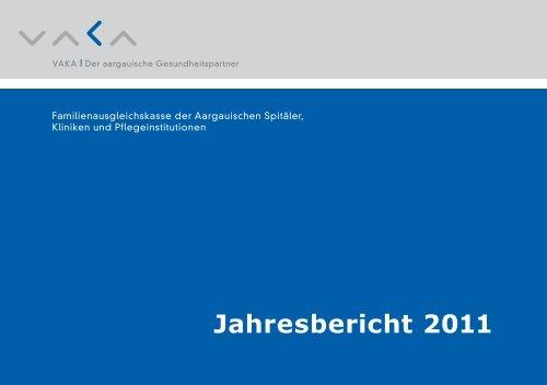 Jahresbericht 2011 - VAKA