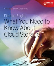 What You Need to Know About Cloud Storage - Trend Micro