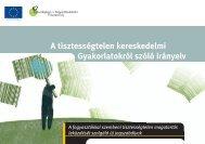 A tisztességtelen kereskedelmi gyakorlatokról szóló irányelv - Europa